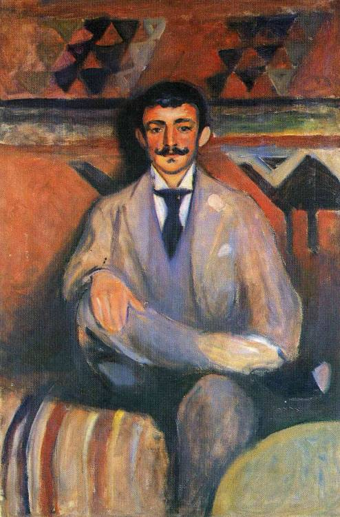 """The Painter Jacob Bratland"" by Edvard Munch, 1892"