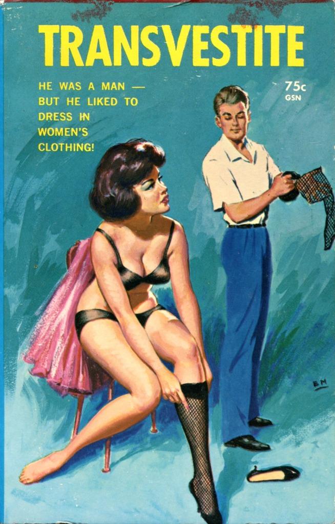 Gay pulp fiction, circa1960