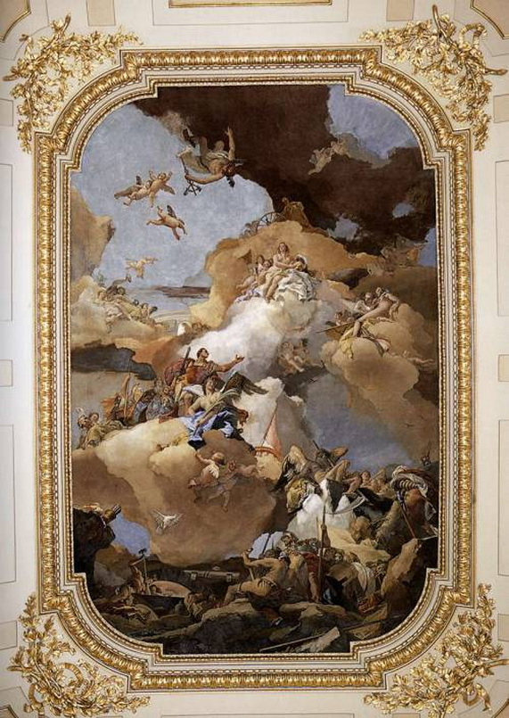 """Venus and Vulcan"" by Giovanni Battista Tiepolo, 1766"