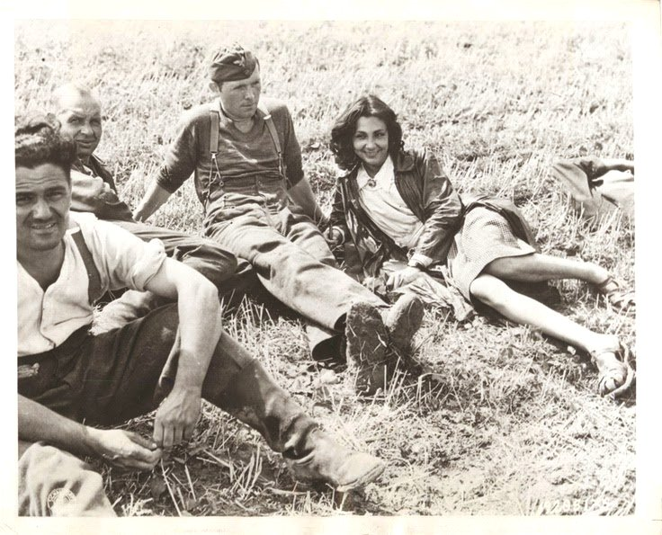 Captured Nazi soldiers and French collaborators,WWII
