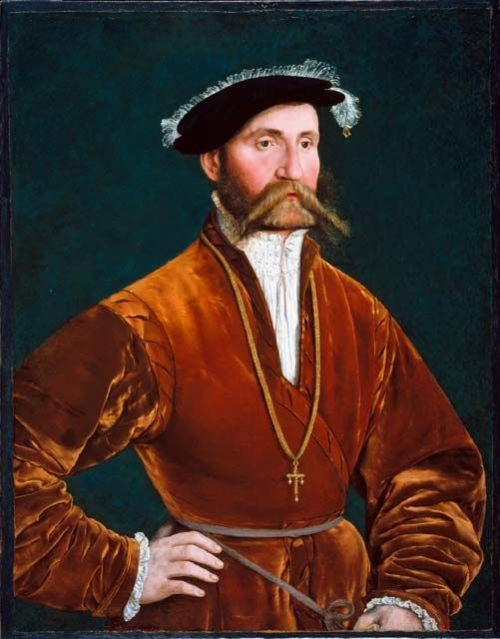 Portrait of a Nobleman (with a rolledstache)