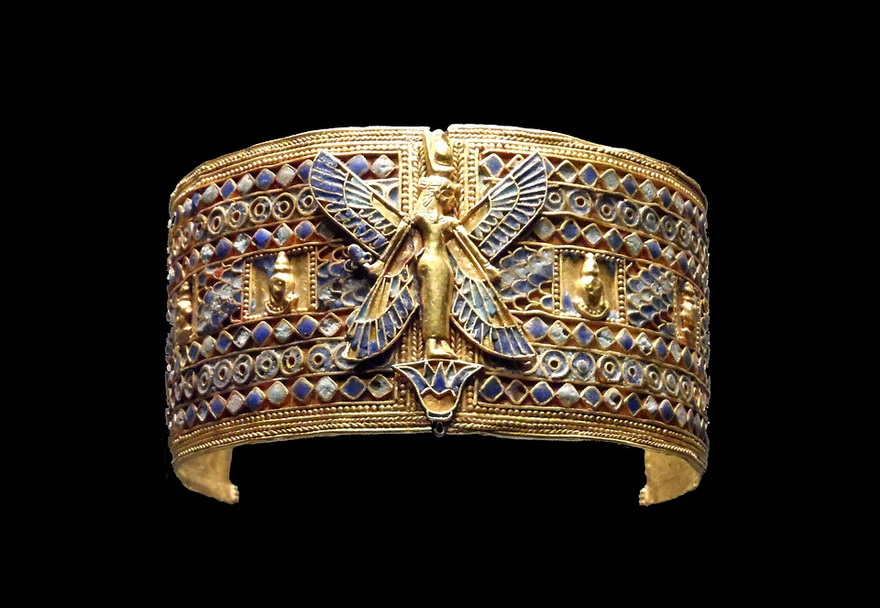 Armband from the tomb of Queen Amanishakheto in Nubia (Sudan)