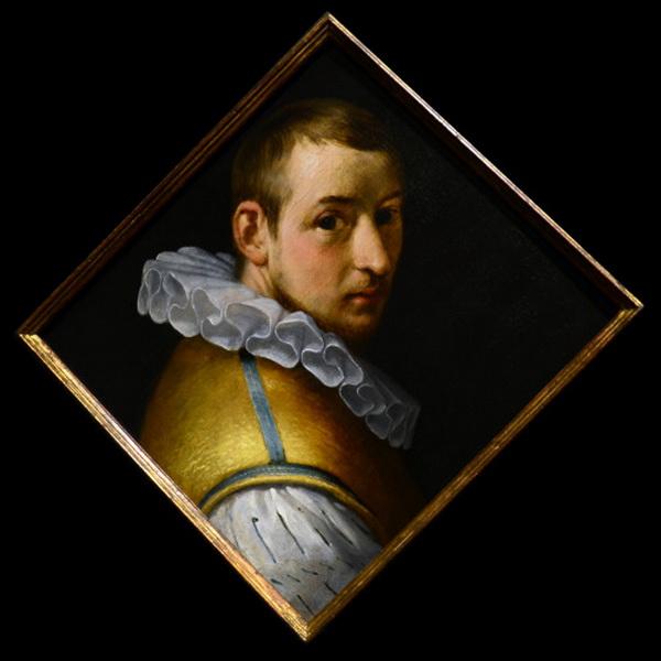 Self-portrait by Cornelis van Haarlem, circa1588-1590
