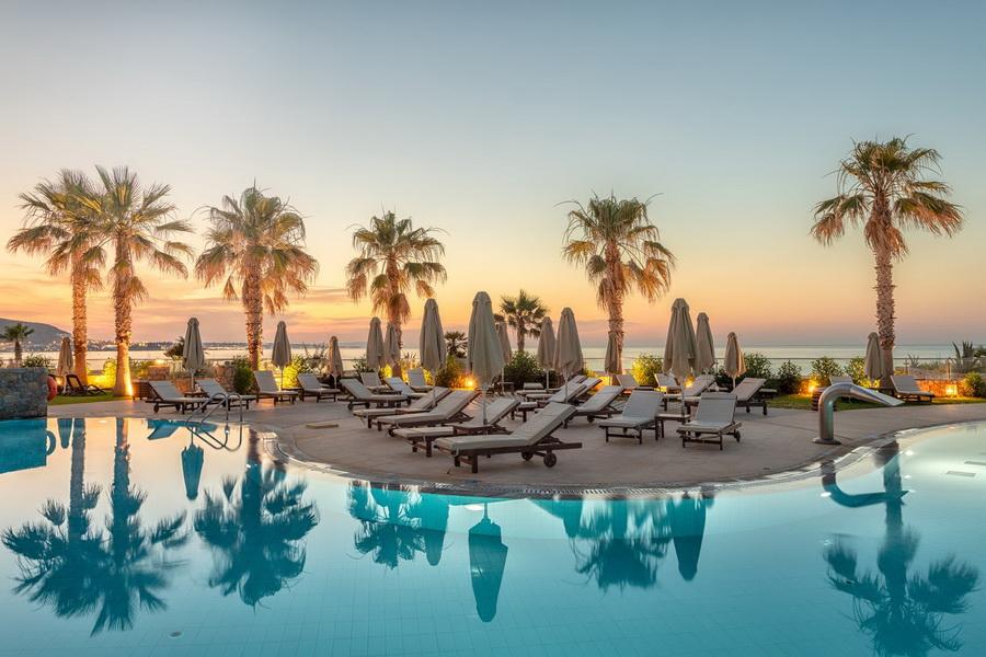 Resort in Crete(Greece)