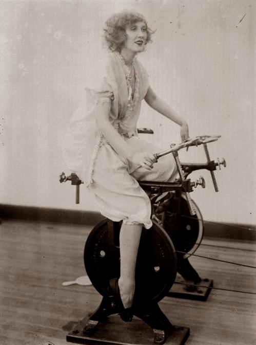 Old fashioned exercisemachine