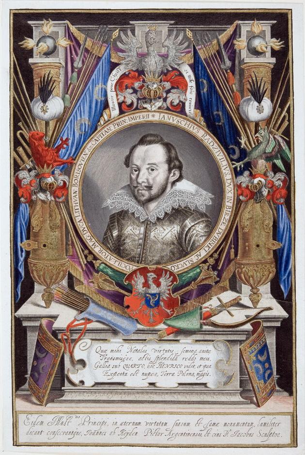 Duke Janusz Radziwill by Jan van der Heyden,1609