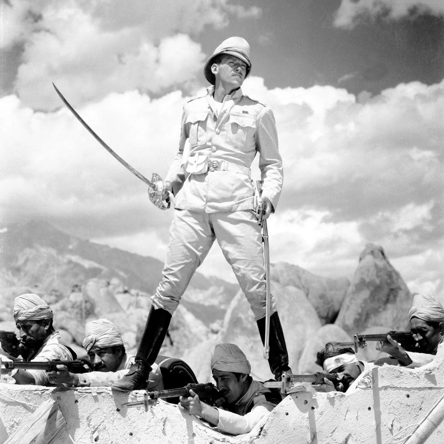 "Douglas Fairbanks Jr. in ""Gunga Din"""