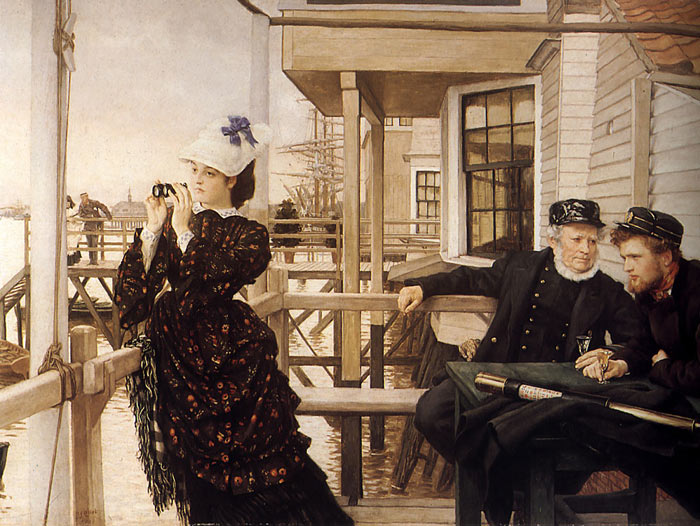 """""""The Captain's Daughter"""" by JamesTissot"""