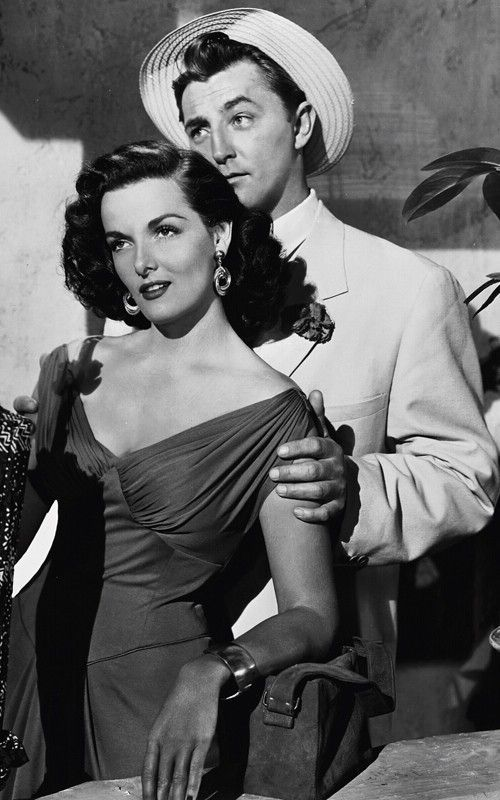 Jane Russell and RobertMitchum