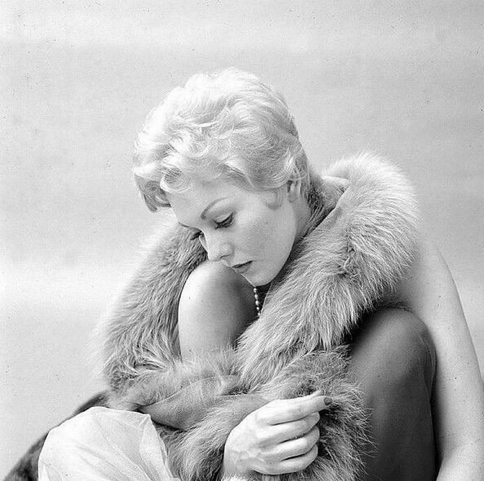 Kim Novak by Milton Greene,1955