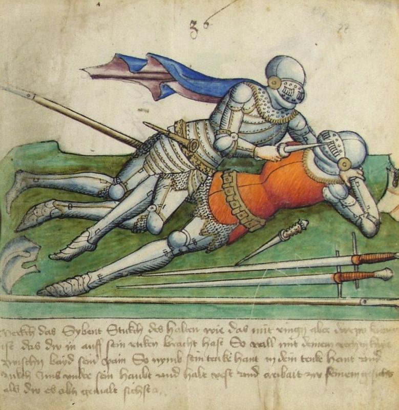 Knight knife fight