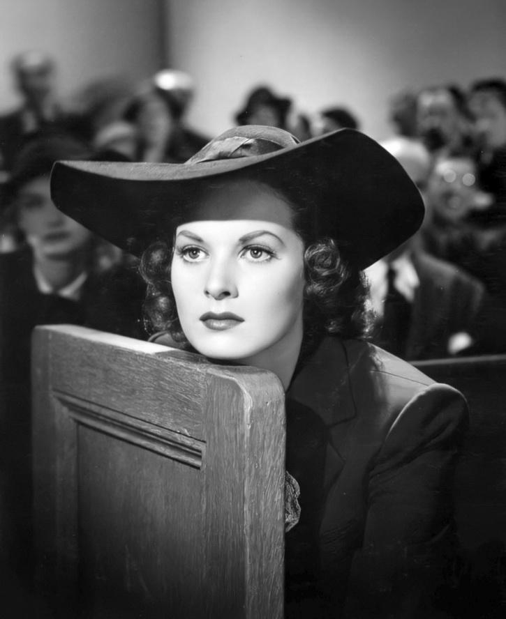 Irish-American actress Maureen O'Hara,1943