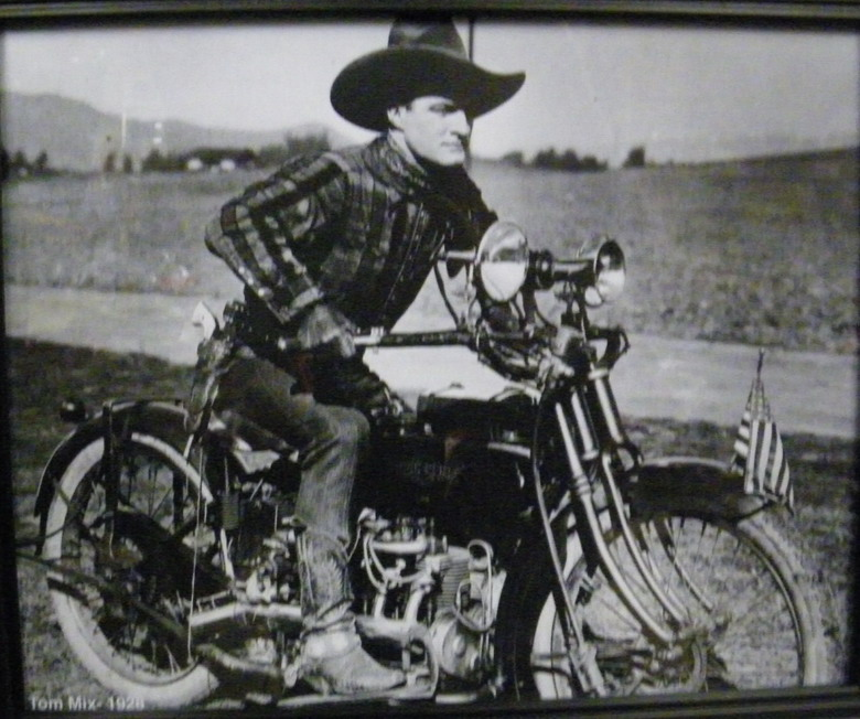 Tom Mix, silent action film star,1920s