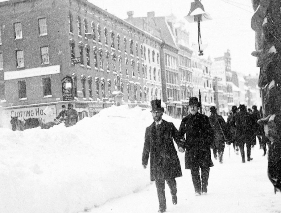 NYC after the Blizzard of1888