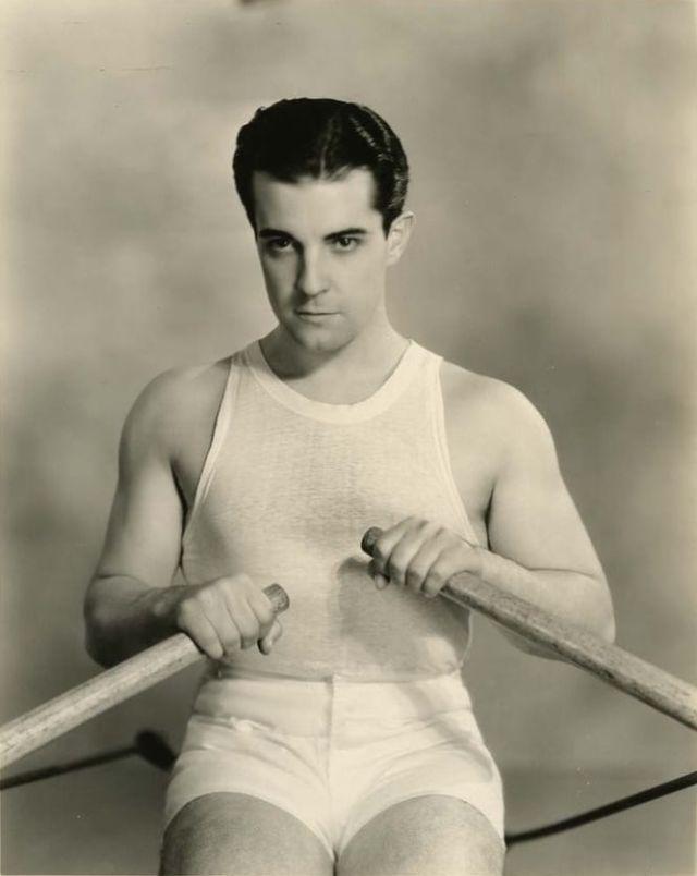 Mexican-American silent film star Ramon Navarro,1920s