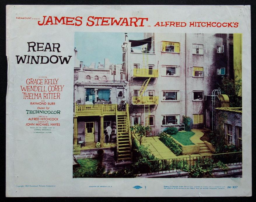 "Alfred Hitchcock's ""RearWindow"""