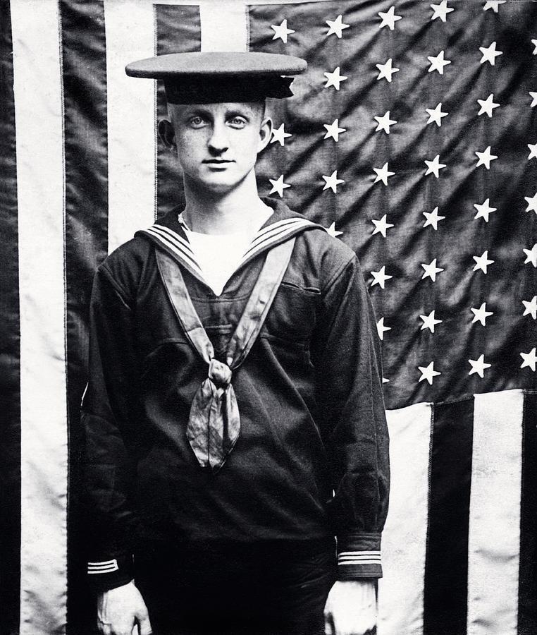 American sailor, WWI
