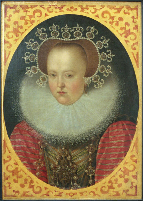 Sophie of Brandenburg is NOT amused,1500s