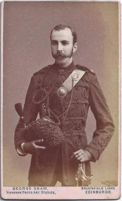 Vintage royal stache,1800s