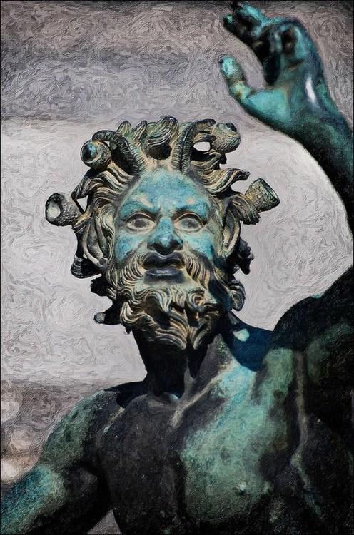 Bronze statue of the dancing Faunus, found inPompeii