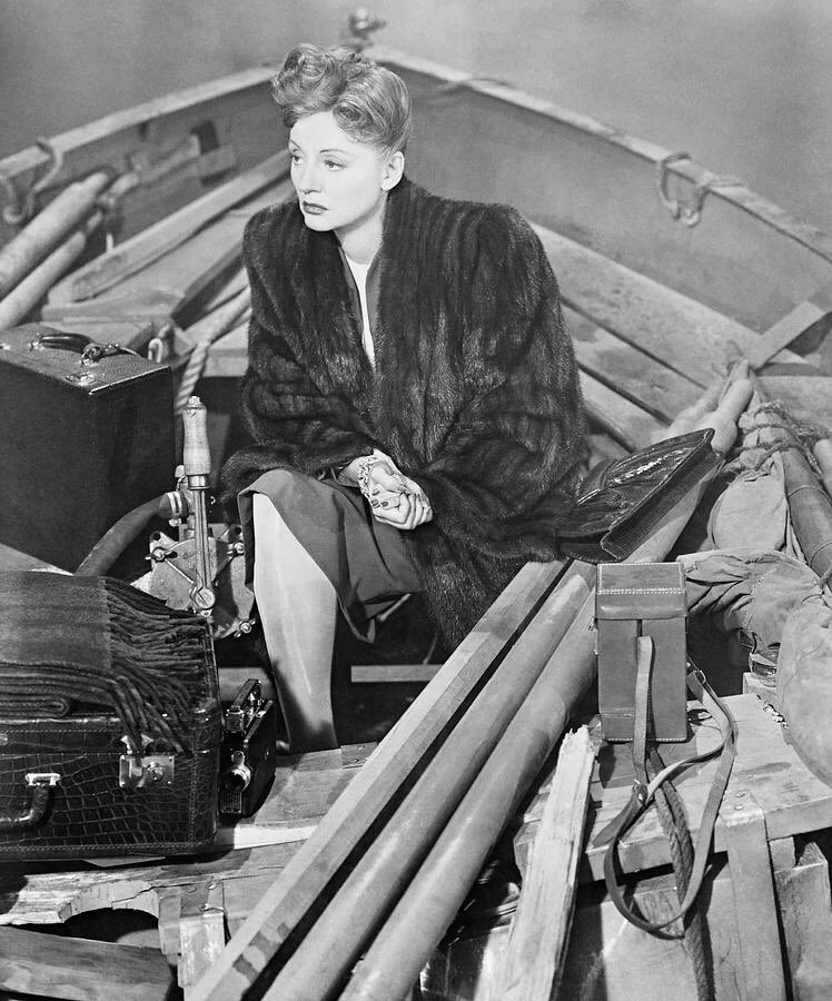 "Talullah Bankhead in ""Lifeboat"""