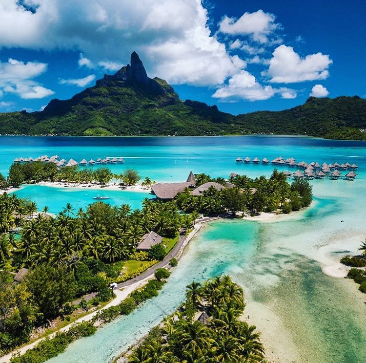 Tropical resort, French Polynesia
