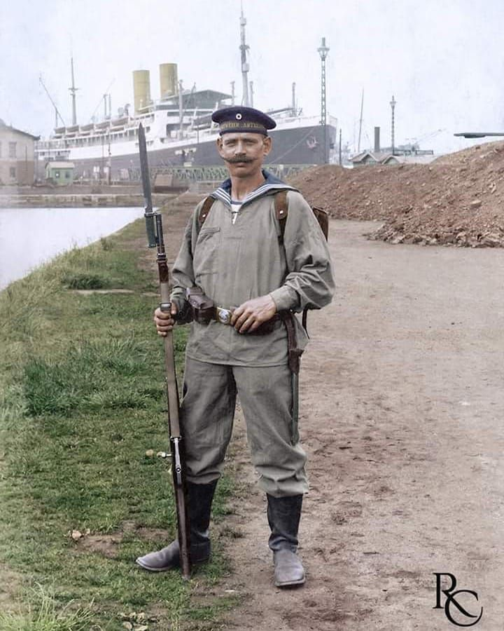 German sailor, WWI