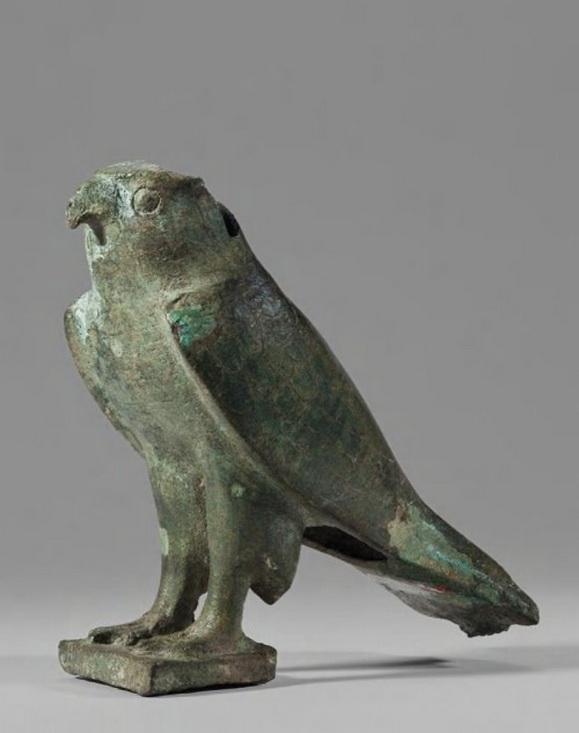 Ancient Egyptian falconstatue