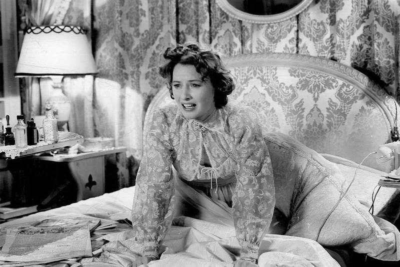 """Barbara Stanwyck in """"Sorry, WrongNumber"""""""