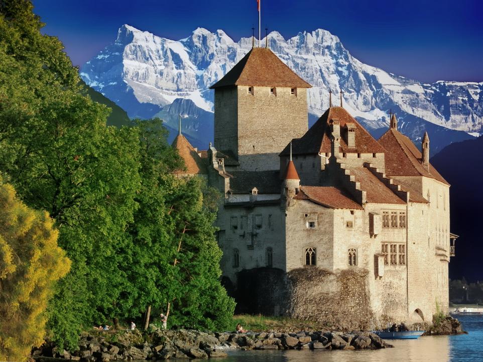 Chateau Chillon, Switzerland