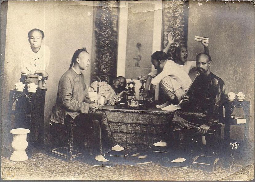 Opium smokers, China,1910s