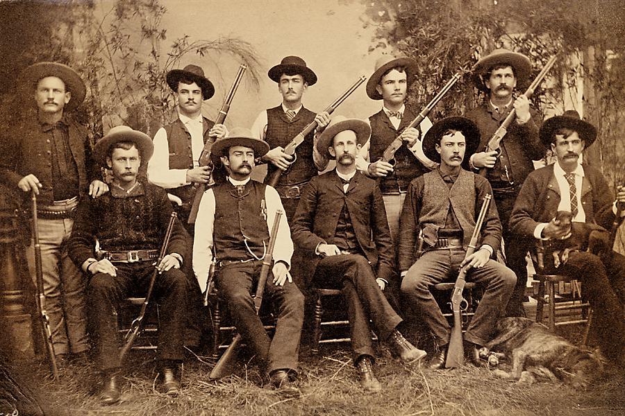 Texas Rangers, 1800s