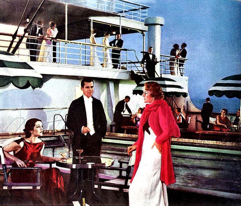 Cruise ship, 1930s