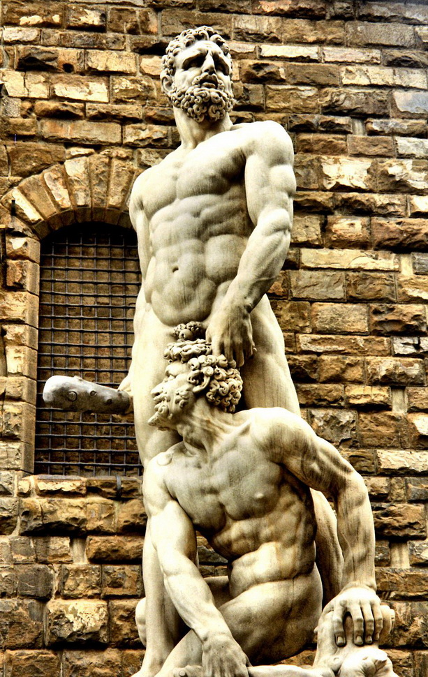 State of Hercules and Cacus, Florence,Italy