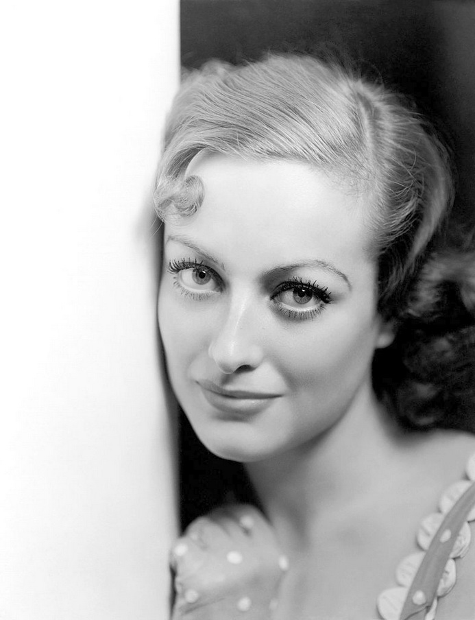 The softer side of Joan Crawford, early1930s