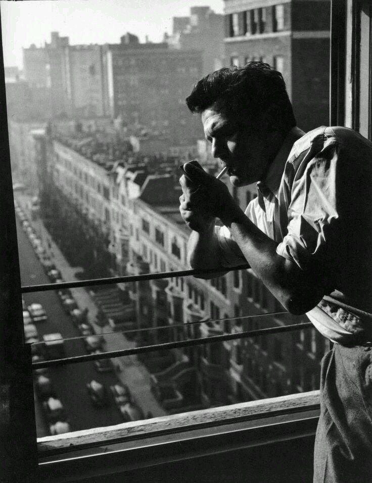 John Garfield by John Swope, New York City,1940