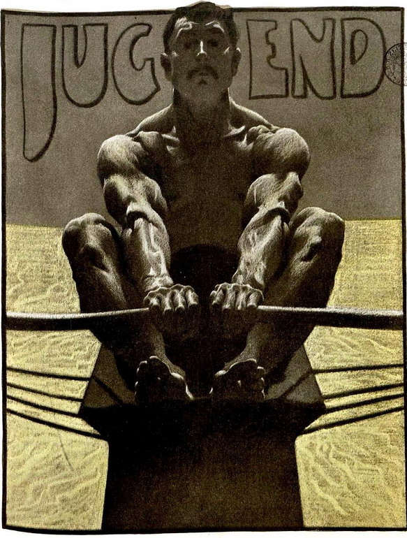 Cover of a Jugend magazine, Germany, 1920s
