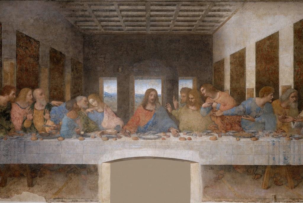 """""""The Last Supper"""" by Leonardo daVinci"""