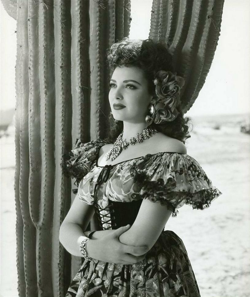 "Linda Darnell in ""My Darling Clementine"", 1946"