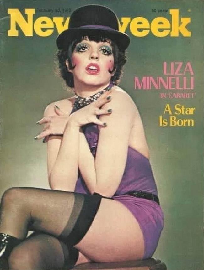 "Liza Minnelli, ""Cabaret"", 1972"