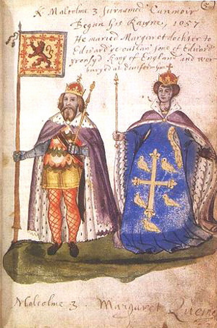 Malcolm III of Scotland (c. 1031-1093) and Margaret ofWessex