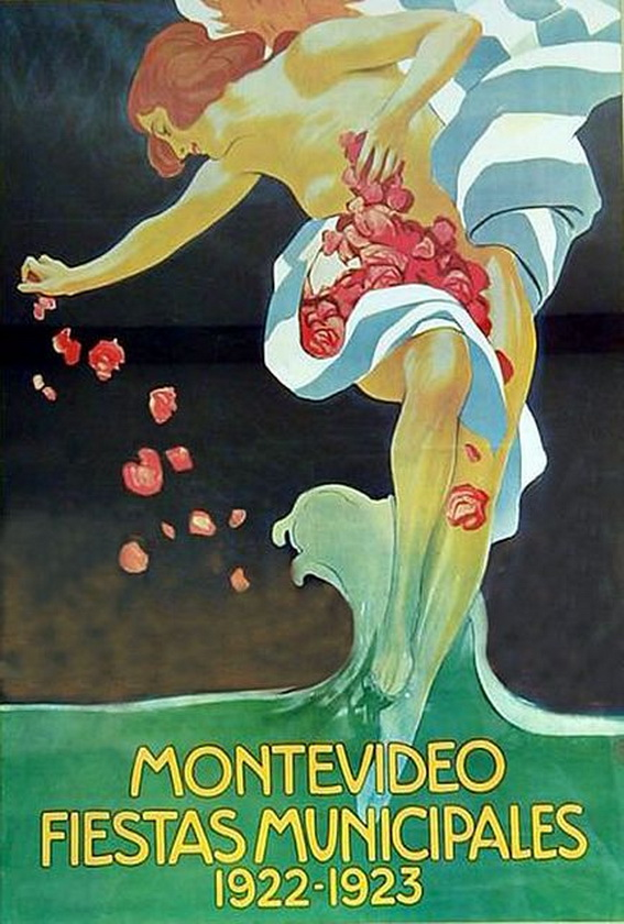 Montevideo, Uruguay, 1922-23