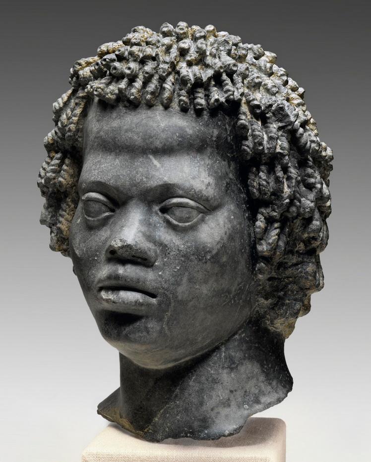 Nubian head, Egypt, 2ndcentury