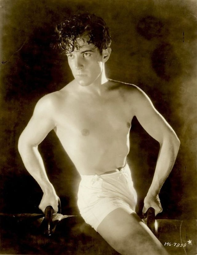 Silent film star Ramon Novarro