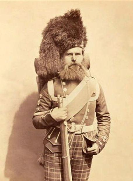 Scottish Highlander, British Army, Crimean War,1850s