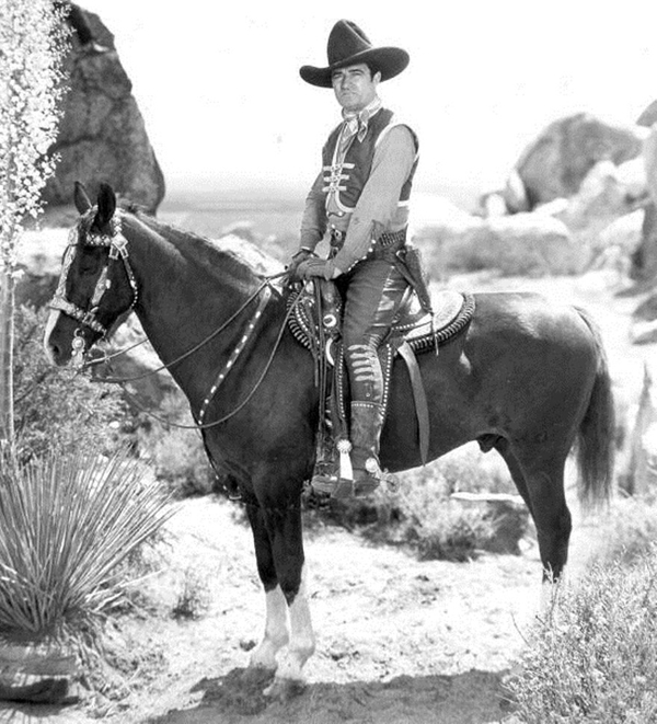 Tom Mix, silent cowboy film star