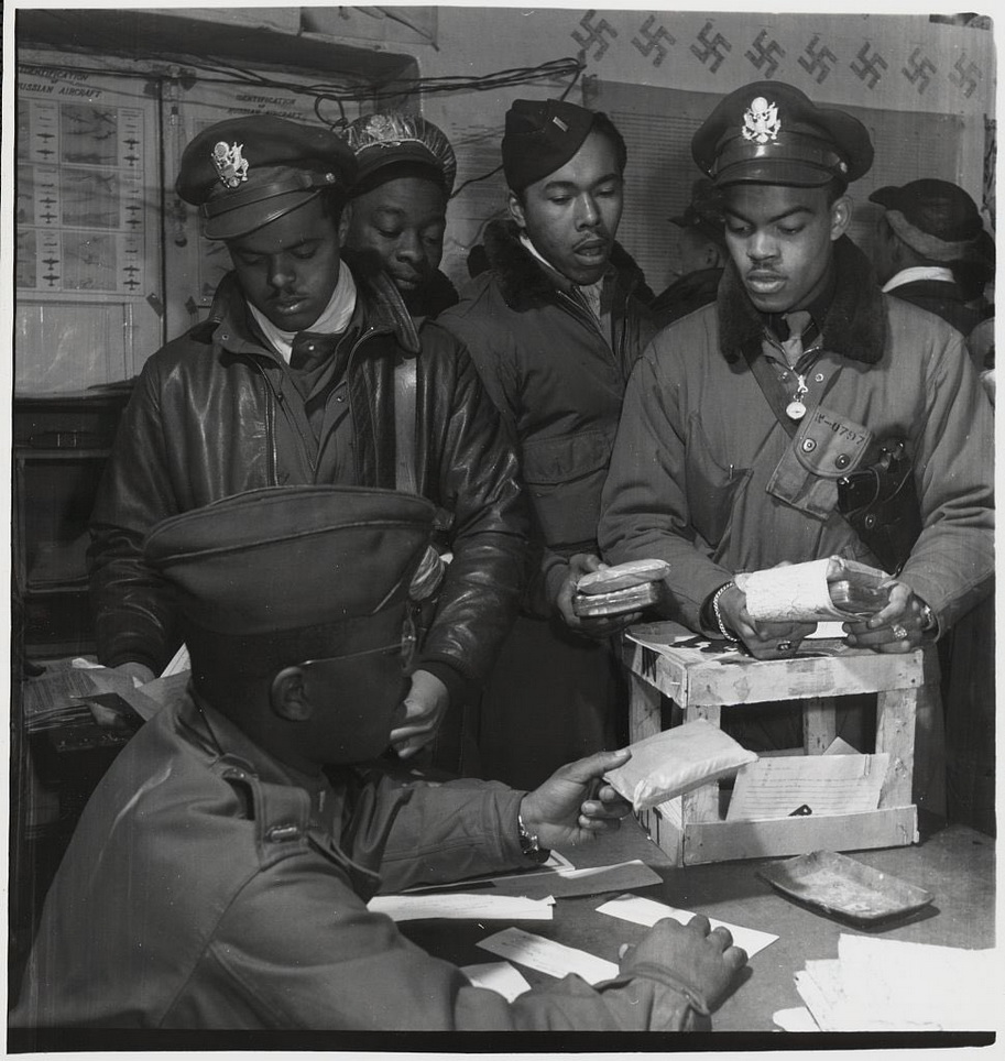 African-American airmen, WWII