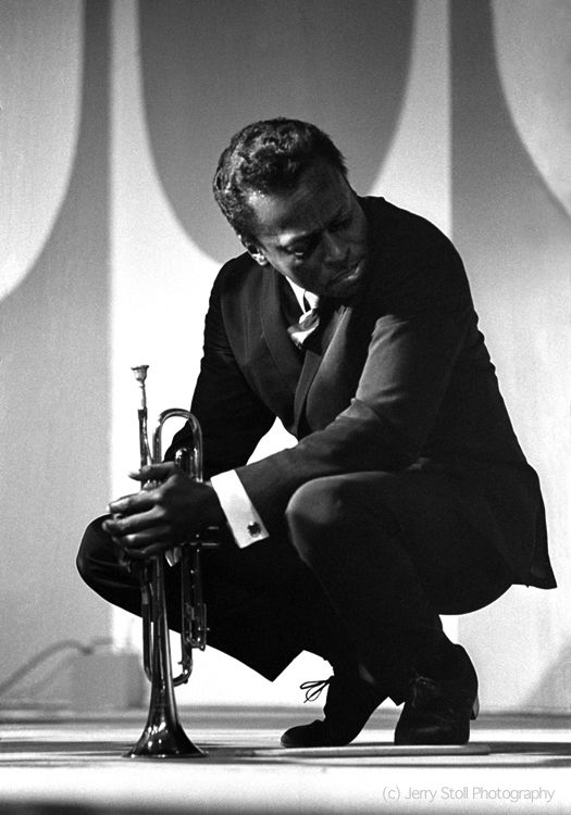 Miles Davis, Monterey Jazz Festival, 1964 by JerryStoll