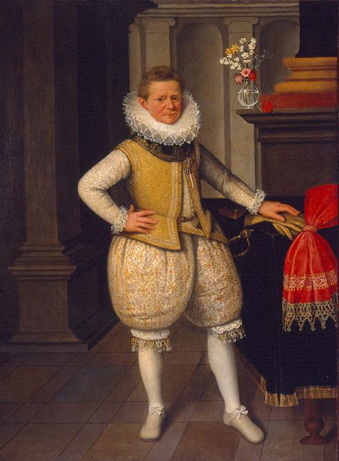 "Johann Gersmueter ""Portrait of the dwarf Giangiovetta"", 1606"