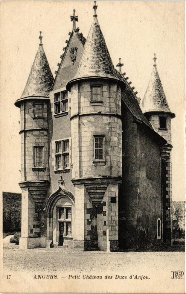 Petit chateau des Ducs d'Anjou, Angers,France